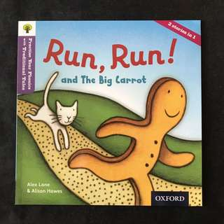 💥NEW- Practise Your Phonics with Traditional Tales - Run, Run! (Level 1) - Children Storybooks