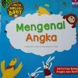 Mengenal Angka Board Book