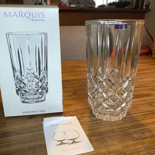 Waterford marquis crystal vase BRAND NEW