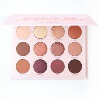 PO Colourpop eyeshadow palette Give it to me straight