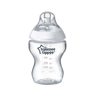 Tommee Tippee Feeding Bottle 9 oz 0+M (1 pc) NEW