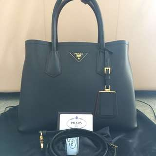Prada Double Cuir Handbag
