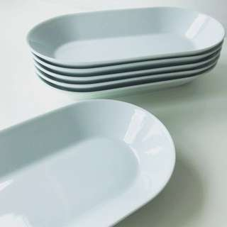 Serving Plate, White
