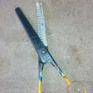 vintage barber scissors