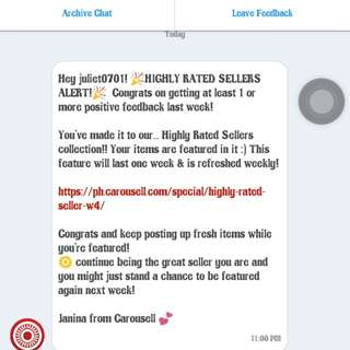 Highly Rated Seller! 😘👍❤