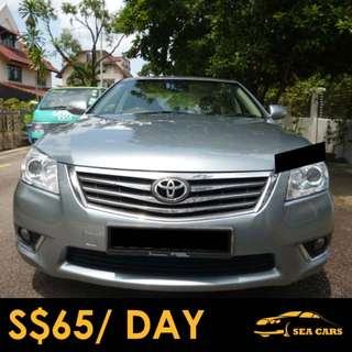 Car Rental for Grab/Uber - Toyota Camry
