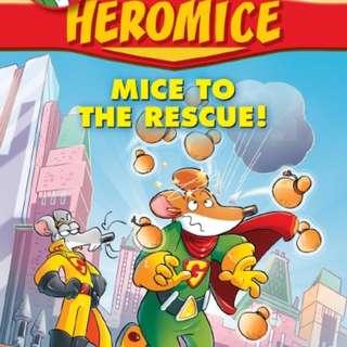 Geronimo Stilton Heromice Series Books #1, #2 & #3