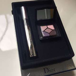 Dior Mascara and Eyeshadow Palette