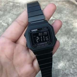 Casio B650 Triple Black