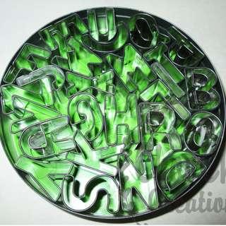 Makin's Alphabet Tin Cutter