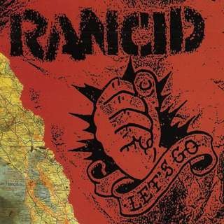 Rancid ‎Let's Go cd