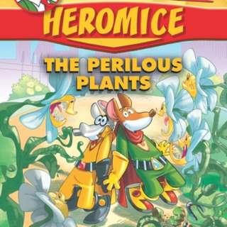 Geronimo Stilton Heromice Series Books #4 & #5