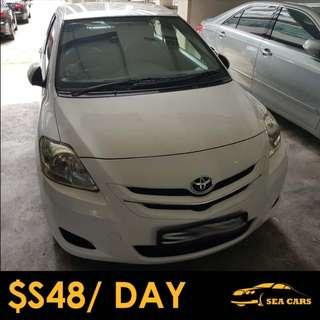 Car Rental for Grab/Uber - Toyota Vios 1.5A