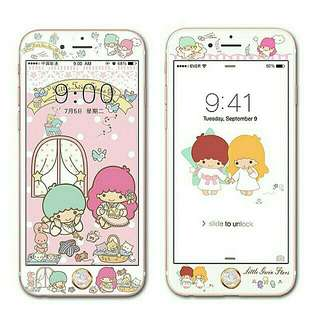 Little twins star screen protector(mon貼)