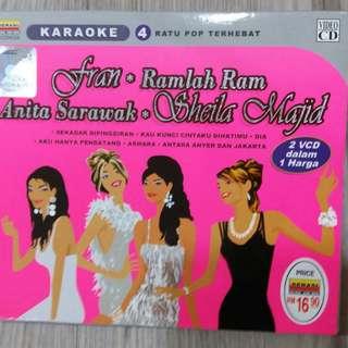 Fran + Ramlah Ram + Anita Sarawak + Sheila Majid (VCD)