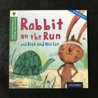 💥NEW- Practise Your Phonics with Traditional Tales - Rabbit on the Run (Level 2) - Children Storybooks