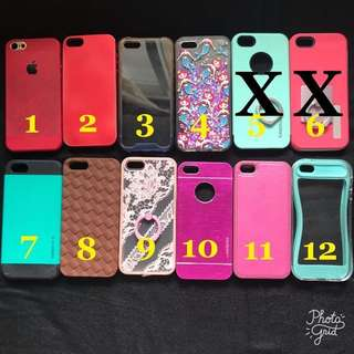Iphone 5 Cases (Please see details for prices)