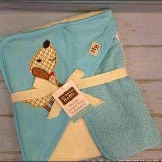 Bamboo hooded towel