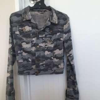 Grey camo jacket