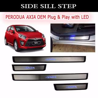 SIDE STEEL STEP - AXIA