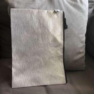File Folder Zip Golden Beige A4 Size Fits well
