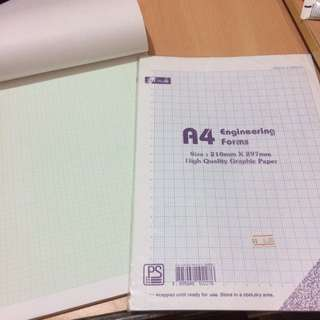 數學用A4 graphic papers