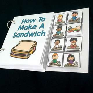 DIY Interactive Book Life Skill : Make a Sandwich