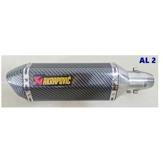 Akrapovic Muffler Motorcycle Exhaust Plug N Play Ekzos