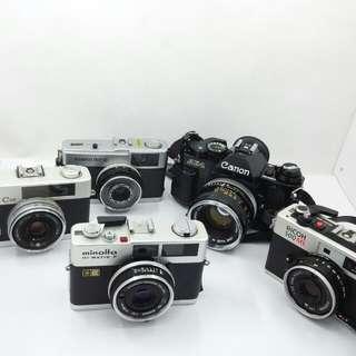 Film camera,lens
