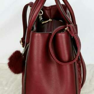 G*V*NCHY  Journey Grained Elegant 2in1 Polyster Vs Smooth Leather Like Ori 85901  (04)*