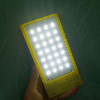 powerbank solar power with flashlight