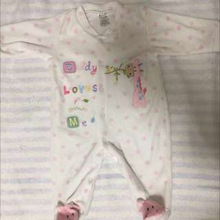 New Baby jumpsuit 5-9 months BB 連體衣