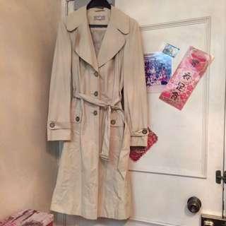 全新卡奇色乾濕外套