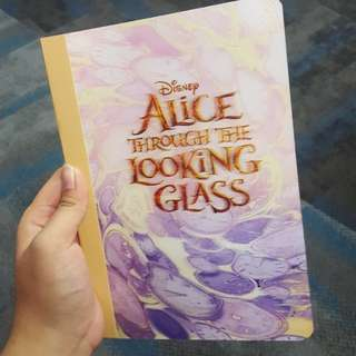 Notebook alice through the looking glass
