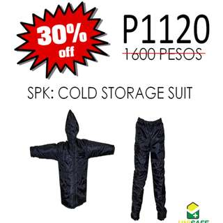 SPIDERKING® Cold Storage Suit