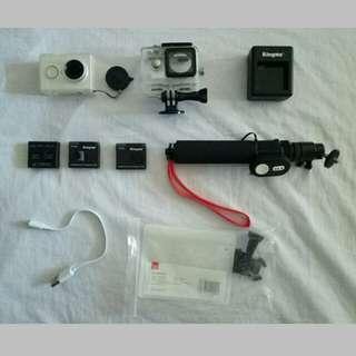 xiaomi yi action camera fullset