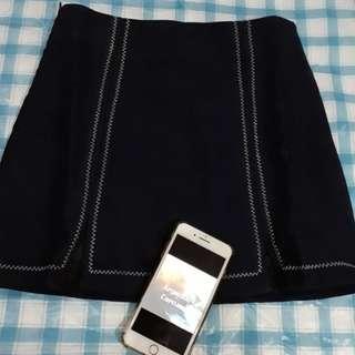 Mini skirt navy