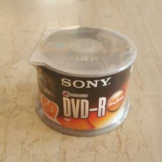 DVD-R (SONY) 50-CD Pack with Free PC Game