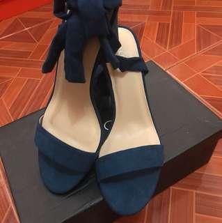 Zalora Tie Up Heel Sandals