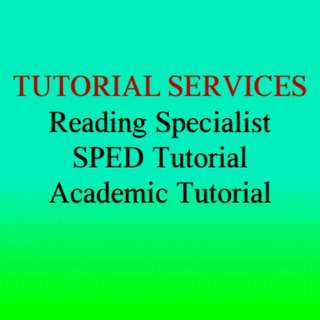 Reading / Academic Tutorial