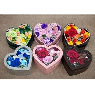 MMK  Rose Soap Flower Box(New Design&Creative)
