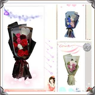 MMK 13pcs Rose Soap Flower Bouquet(New Design&Creative)