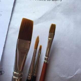 Art paint brushes OMNI, ASENCIO