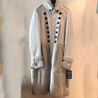 Burberry Prorsum leather coat