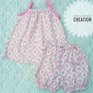 handmade terno for babies