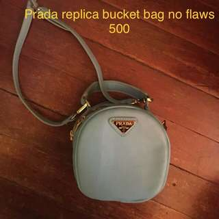 Prada bucket bag