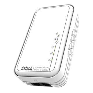 新加坡 Aztech 愛捷特 HL129EW HomePlug (家用電力線網路,電力網絡,867Mbps,WiFi,DualBand,AC1200)