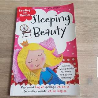 Sleeping beauty storybook