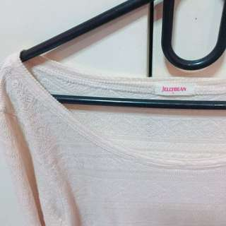 JELLYBEAN Long Sleeves Pink (Large)