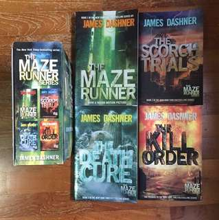 INSTOCK | THE MAZE RUNNER FULL SERIES